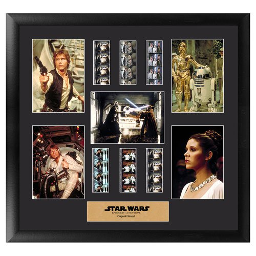 Star Wars A New Hope Special Edition Montage Film Cell Ltd Ed :: Mental XS Online