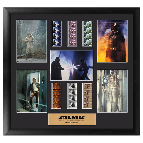 Star Wars Episode V: The Empire Strikes Back Series 3 Montage Film Cell Display - Official Filmcells Ltd Limited Edition 2500 :: Mental XS Online
