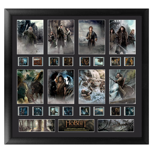 The Hobbit: Desolation of Smaug Series 1 Montage Film Cell Display - Official Filmcells Ltd Limited Edition 2500 :: Mental XS Online