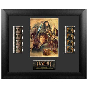 The Hobbit: Desolation of Smaug Series 2 Double Film Cell Display - Official Filmcells Ltd Limited Edition 2500 :: Mental XS Online
