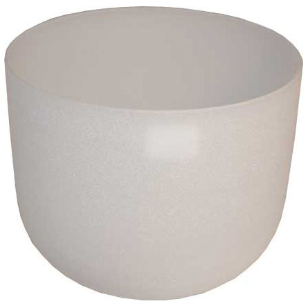 White Crystal Singing Bowl 8