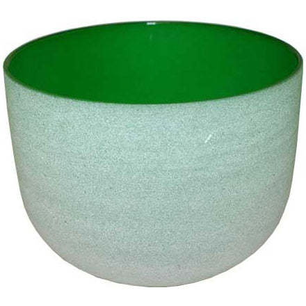 Green Crystal Singing Bowl 8
