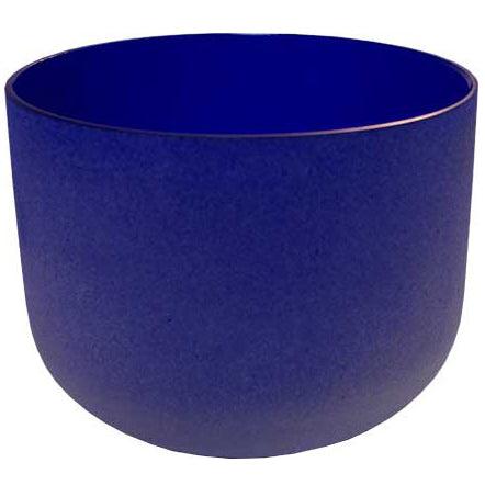 Dark Blue Crystal Singing Bowl 8
