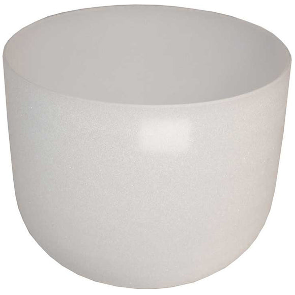 White Crystal Singing Bowl 18