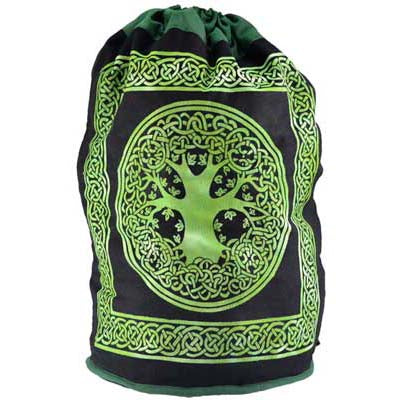 Celtic Tree of Life Canvas Backpack