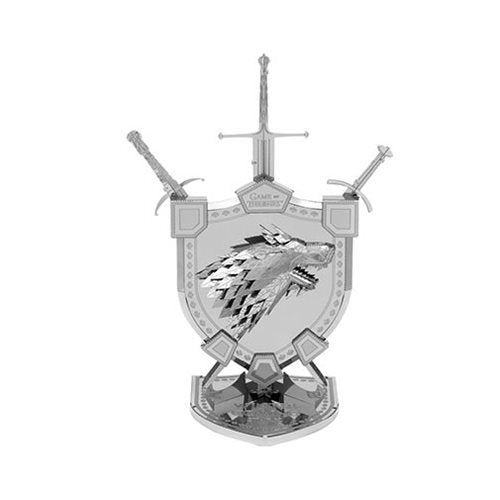 Game of Thrones Stark Crest Iconx Model Kit - Official Fascinations :: Mental XS Online
