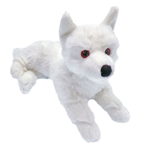 Game of Thrones Ghost Dire Wolf Prone Cub Large Plush - Official Factory Entertainment :: Mental XS Online