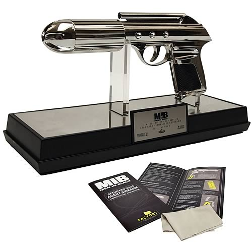 Men in Black: MiB J2 Standard Issue Agent Gun Prop Replica - Official Factory Entertainment Limited Edition 1000 :: Mental XS Online