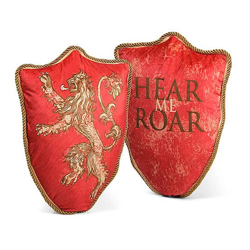Game of Thrones Lannister Lion Throw Pillow - Official Factory Entertainment :: Mental XS Online