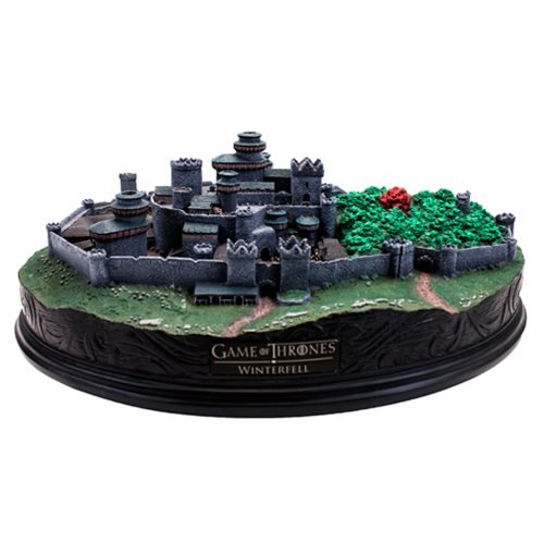 Game of Thrones Winterfell Desktop Statue - Official Factory Entertainment :: Mental XS Online