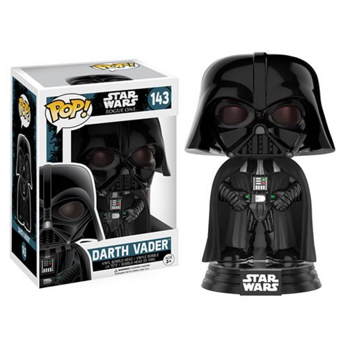 Star Wars - Rogue One: A Star Wars Story - Darth Vader Pop! Vinyl Bobble Head #143 - Official Unisex :: Mental XS Online
