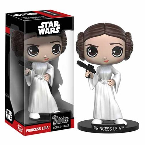 Star Wars Episode IV: A New Hope Leia Bobble Head - Official Unisex :: Mental XS Online