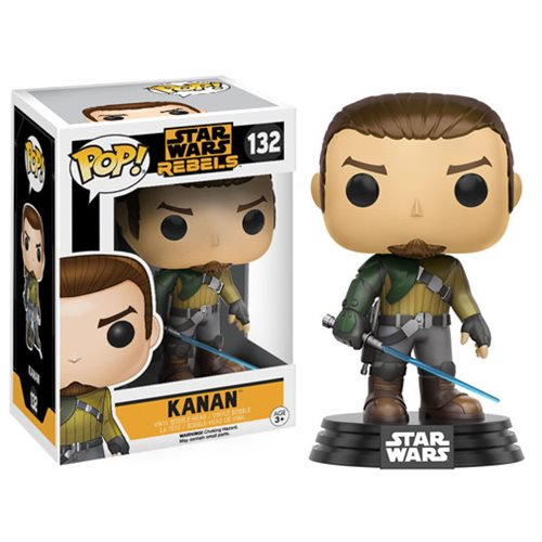 Star Wars: Rebels Kanan Pop! Vinyl Bobble Head #132 - Official Unisex :: Mental XS Online