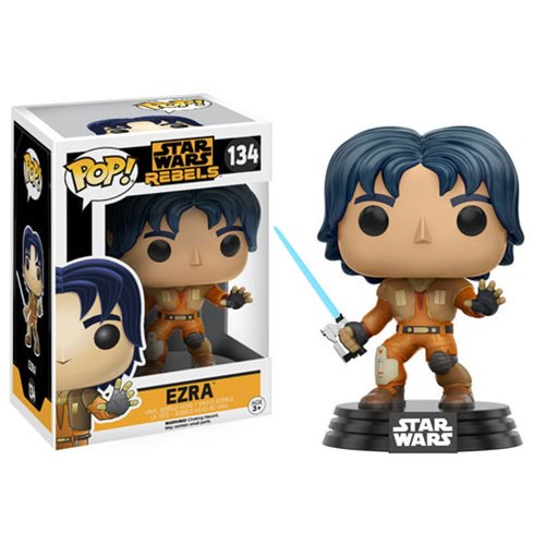 Star Wars: Rebels Ezra Pop! Vinyl Bobble Head #134 - Official Unisex :: Mental XS Online