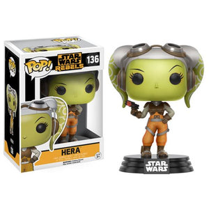 Star Wars: Rebels Hera Pop! Vinyl Bobble Head #136 - Official Unisex :: Mental XS Online