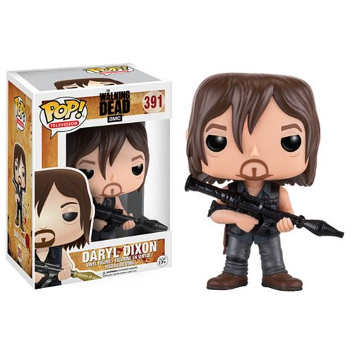 The Walking Dead Daryl with Rocket Launcher Pop! Vinyl Figure #391 - Official Funko :: Mental XS Online
