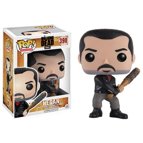The Walking Dead Negan Pop! Vinyl Figure #390 - Official Funko :: Mental XS Online