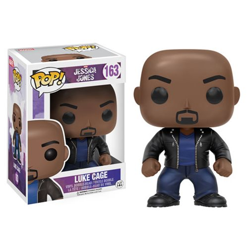 Jessica Jones Luke Cage Pop! Vinyl Figure #163 - Official Funko :: Mental XS Online