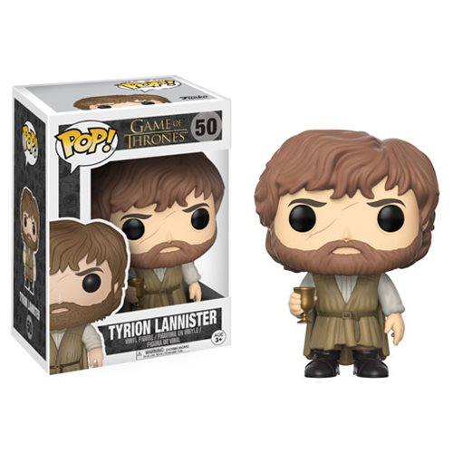 Game of Thrones Tyrion Lannister Pop! Vinyl Figure #50 - Official Funko :: Mental XS Online
