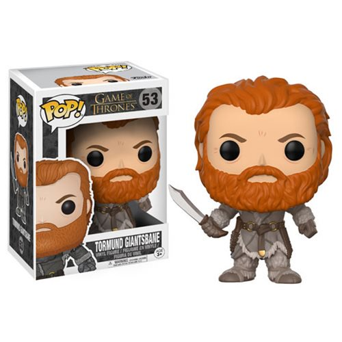 Game of Thrones Tormund Pop! Vinyl Figure #53 - Official Funko :: Mental XS Online