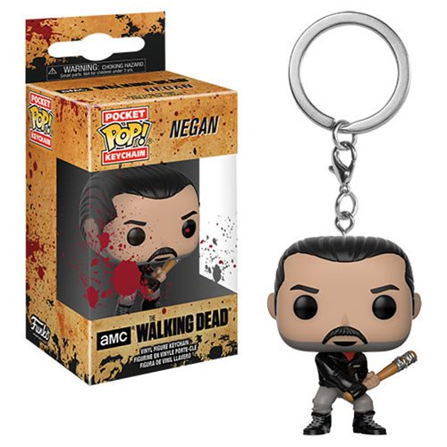 The Walking Dead Negan Pocket Pop! Key Chain - Official Funko :: Mental XS Online