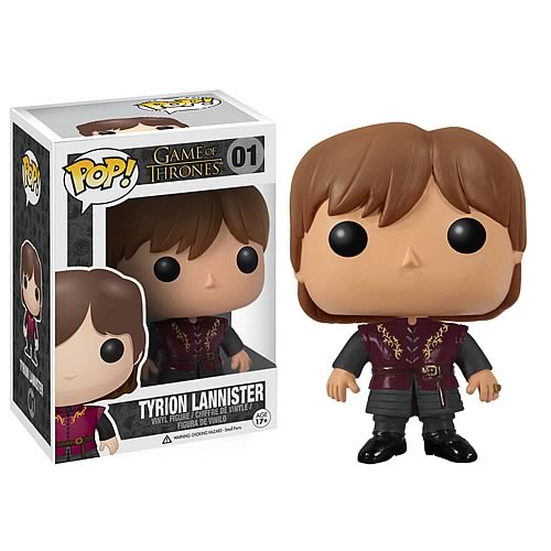 Game of Thrones Tyrion Lannister Pop! Vinyl Figure #01 - Official Funko :: Mental XS Online