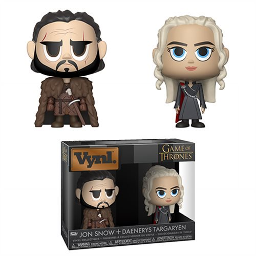 Game of Thrones Jon and Daenerys Vinyl Figure 2-Pack - Official Funko :: Mental XS Online