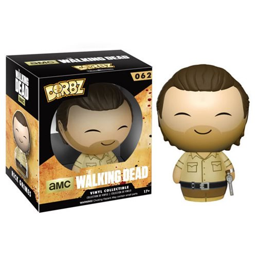 The Walking Dead Rick Grimes Dorbz Vinyl Figure - Official Funko :: Mental XS Online