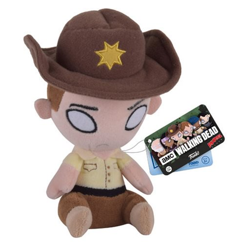 The Walking Dead Rick Grimes Mopeez Plush - Official Funko :: Mental XS Online