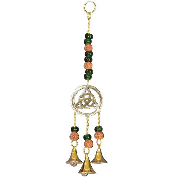 Triquetra with Beads Windchime 10