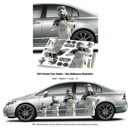 Star Wars Stormtrooper Car Decal :: Mental XS Online