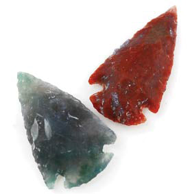 "Arrowhead Gemstone (various) 1""-1½"""