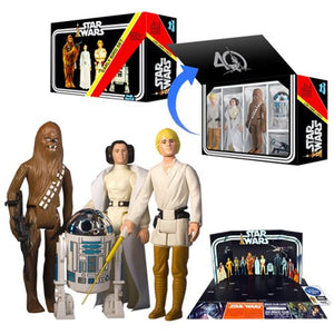 "Star Wars Jumbo Vintage Early Bird Kit Kenner 12"" Action Figures 4-Pack - Official Gentle Giant :: Mental XS Online"