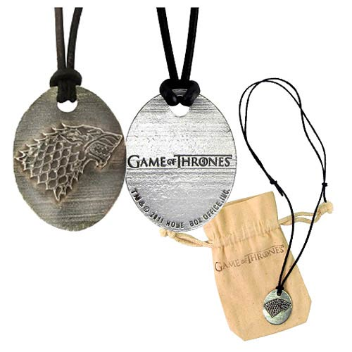 Game of Thrones Stark Pendant Necklace - Official Artisan Designs :: Mental XS Online