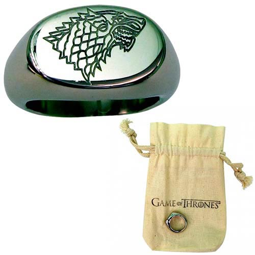 Game of Thrones Stark Ring Size 10 - Official Artisan Designs :: Mental XS Online