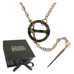 Game of Thrones Sansa Stark Dark Necklace Prop Replica - Official Artisan Designs :: Mental XS Online