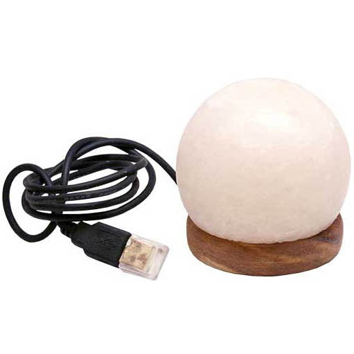 USB Ball Himalayan Rock Salt Lamp 3