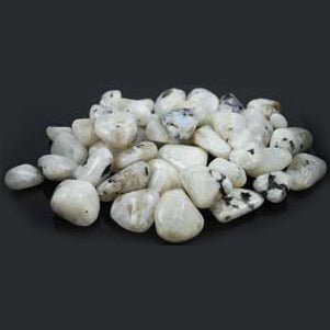 Rainbow Moonstone Tumbled Gemstones (1lb)