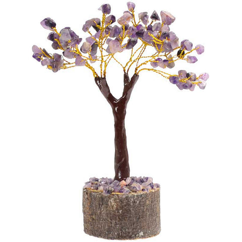 Amethyst Gemstone Tree 160 Beads