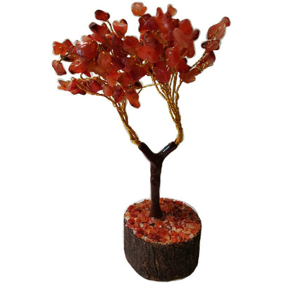 Carnelian Gemstone Tree
