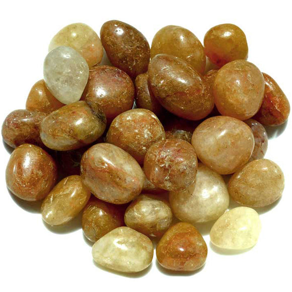 Natural Topaz Tumbled Gemstones (1lb)