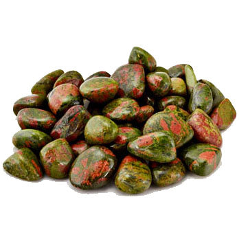 Unakite Tumbled Gemstones (1lb)
