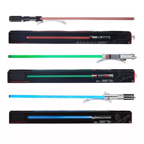 Star Wars Episode VII: The Force Awakens Force FX Deluxe Lightsabers Wave 5 - Hasbro Limited Edition :: Mental XS Online