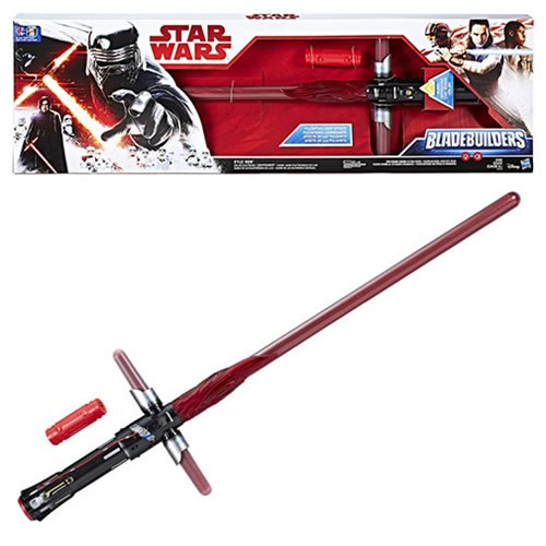 Star Wars Episode VIII: The Last Jedi Kylo Ren Deluxe Electronic Lightsaber - Official Unisex :: Mental XS Online