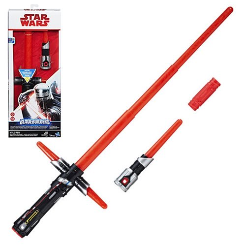 Star Wars Episode VIII: The Last Jedi Kylo Ren Electronic Lightsaber - Official Unisex :: Mental XS Online