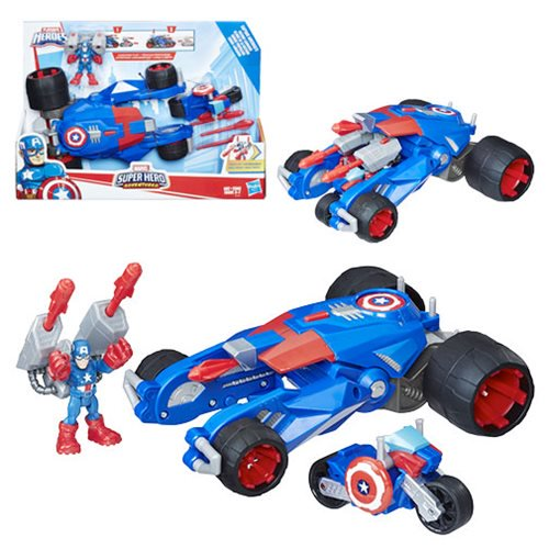 Captain America's Victory Launcher Vehicle - Official Hasbro :: Mental XS Online