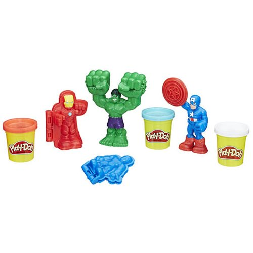 Marvel Play-Doh Hero Tools - Official Hasbro :: Mental XS Online