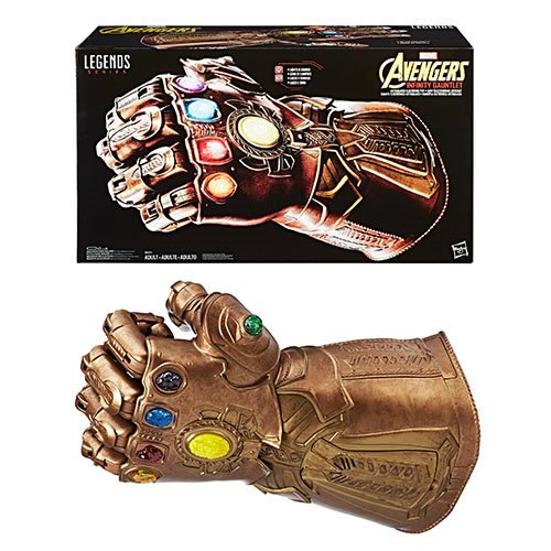 Marvel Legends Series Infinity Gauntlet Articulated Electronic Fist - Official Hasbro :: Mental XS Online