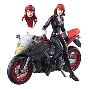 "Marvel Legends Series 6"" Black Widow with Motorcycle - Official Hasbro :: Mental XS Online"