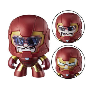 Marvel Mighty Muggs Iron Man Action Figure - Official Hasbro :: Mental XS Online